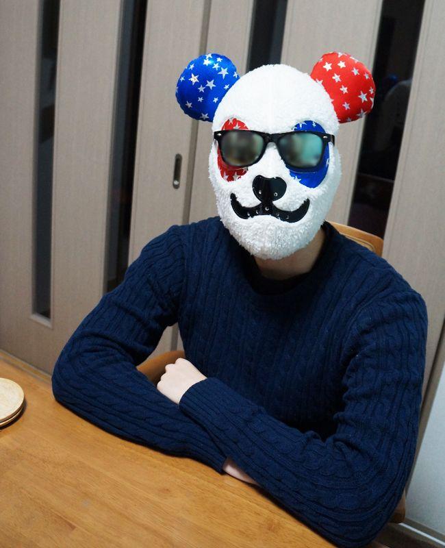 人生は素晴らしいと悟るパンダ