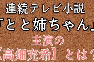 「とと姉ちゃん」主演の『高畑充希』という超絶に可愛い子を知っているか??